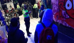 Intervienen a más de 40 personas en una discoteca del centro histórico de Cusco