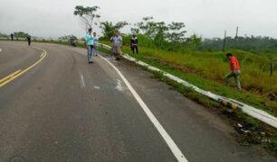 Ucayali: bus interprovincial se vuelca y deja al menos cuatro muertos y 12 heridos