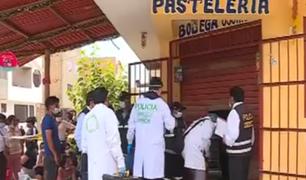 Los Olivos: peligrosos delincuentes asesinan a panadero para robarle 5 mil soles