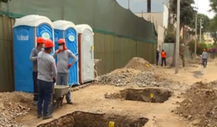 Miraflores: iniciaron los trabajos de remodelación del boulevard de la calle San Ramón