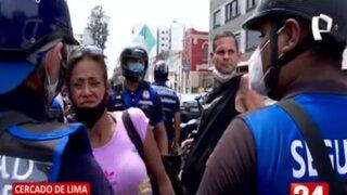 Detienen a pareja de extranjeros acusados de robar bicicletas en el Cercado de Lima