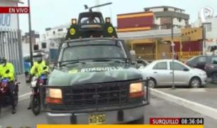 Surquillo: 'Comando Basuca' limpia así las calles de borrachos y faltosos