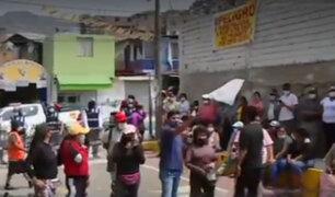 Independencia: vecinos piden retiro de ambulantes de alrededores del mercado Tahuantinsuyo