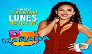 """""""D' Mañana"""": faltan pocos días para su gran estreno por Panamericana TV"""
