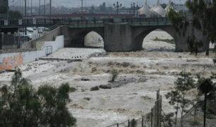Río Rímac: Senamhi declara en alerta amarilla tras aumento de caudal en Chosica
