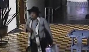 Congreso: Capturan a mujer que robó despacho de legisladora María Teresa Cabrera