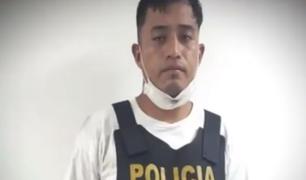 SMP: capturan a presunto líder de banda de extorsionadores