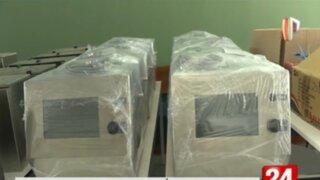 Minsa recibe ventiladores mecánicos elaborados por la PUCP que estaban listos desde octubre