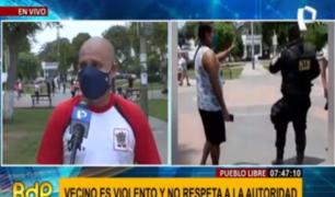 Pueblo Libre: vecino acusado de agresión insiste en que serenos mienten