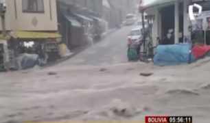 Bolivia: inundaciones matan a cuatro personas en Sucre