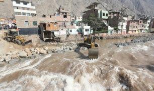 Línea Amarilla: descartan que túnel se vea afectado por incremento del río Rímac