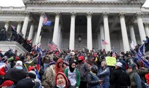 Toma del Capitolio: EU denuncia asalto a la democracia y pide respetar resultado electoral