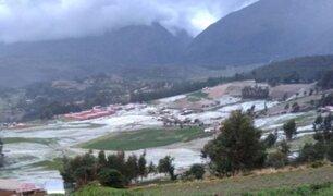 Áncash:  lluvias y nevadas causan daños en tres provincias