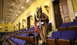 EEUU: Senado se reúne para certificar victoria de Biden tras disturbios en el Capitolio