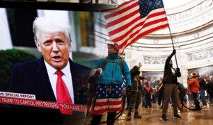 Twitter, Instagram y Facebook bloquean cuentas de Trump tras asalto al Capitolio