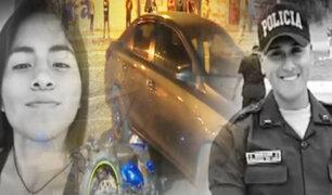 Policía y su pareja mueren atropellados por auto de futbolista