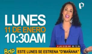 D'Mañana: programa conectará con el público vía redes sociales