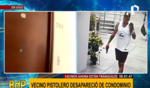 Barranco: 'pistolero' y su pareja se fueron de condominio tras denuncia de vecinos
