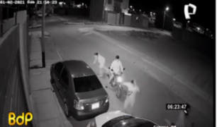 Piura: delincuentes en moto asaltan a niñas en puerta de su casa