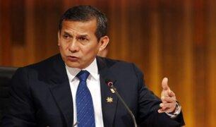 Humala solicita a Sagasti que adelante proceso de relevo con quien resulte presidente electo