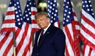 EE.UU: presidenta de Cámara de Representantes señala que Trump debe ser destituido