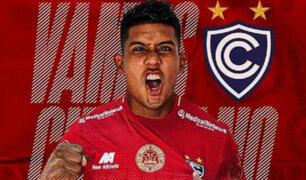 Cienciano emite comunicado tras accidente protagonizado por el jugador Raziel García