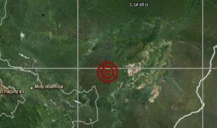 Sismo de magnitud 4.4 se registró esta tarde en Loreto