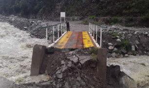 Deslizamientos y bloqueos de carreteras tras intensas lluvias en algunas regiones del país