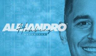 Alejandro Hohberg fue oficializado como el nuevo fichaje de Sporting Cristal