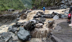 Advierten que 407 distritos a nivel nacional están en riesgo muy alto por lluvias