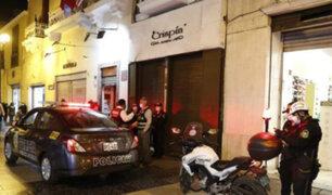 Jirón de la Unión: delincuentes se hacen pasar como clientes para asaltar joyería