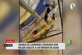 Juliaca: serenos capturan a banda delincuencial que asaltó a joven de 17 años