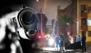 Sicarios en bicicleta asesinan a un hombre en el Callao