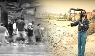 Vecinos viven atemorizados por crecida del río Rímac