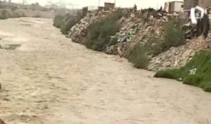 Callao: familias en peligro por crecida del río Rímac