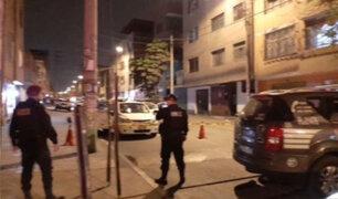 Santa Anita: intervienen a dos sujetos que llevaban una granada en su vehículo