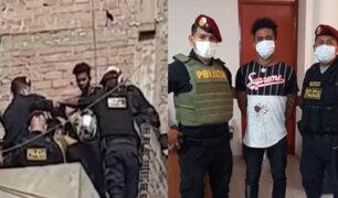SJL: PNP salva a extranjero que intentó suicidarse tras asesinar a su pareja dentro de su vivienda