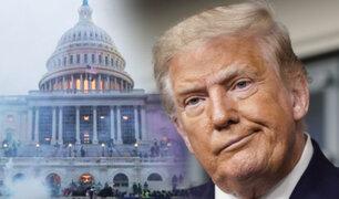 """Juicio político: Senado recibe acusación contra Trump por """"incitar a la insurreción"""""""