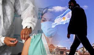 Argentina avanza su etapa de vacunación, pero los contagios aumentan