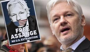 Justicia británica niega la libertad bajo fianza a Julian Assange