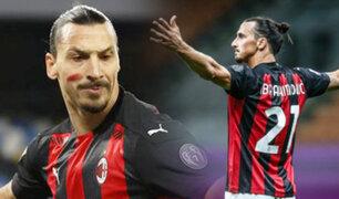 Con el regreso de Ibrahimovic, AC Milan ganó al Torino