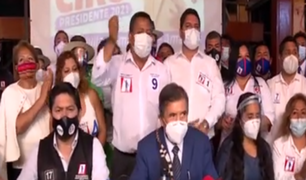Abogado Ciro Gálvez lidera plancha presidencial de Renacimiento Unido Nacional