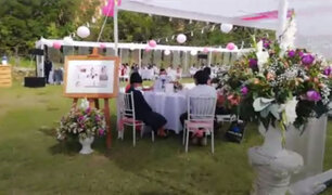 Pucallpa: policía interviene celebración de matrimonio en pleno estado de emergencia