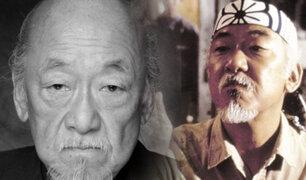 """Documental """"Más que Miyagi"""" abordará la vida de Pat Morita"""