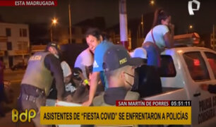SMP: intervienen a cerca de 150 personas que asistieron a fiesta clandestina