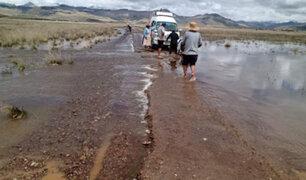 Intensas lluvias y granizadas afectan sembríos y viviendas en varias comunidades de Puno