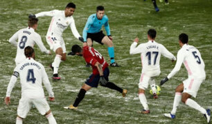 Real Madrid empató de visita contra Osasuna por LaLiga Santander