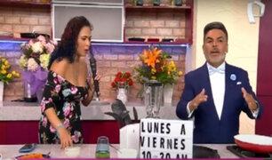 D'Mañana: Aprende a preparar deliciosos panqueques de zanahoria con Andrés Hurtado