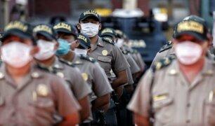 """Ministro del Interior: """"El nivel de contagios dentro de la Policía se ha reducido"""""""