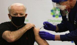 Joe Biden: presidente electo de EE.UU. recibe segunda dosis de vacuna contra la COVID-19